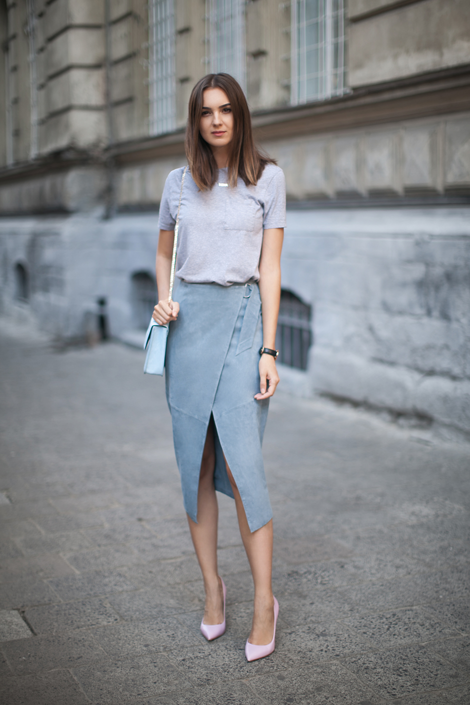 Chân váy quấn Wrap skirt