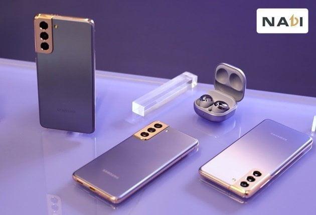 Dân văn phòng nên dùng điện thoại nào - Samsung Galaxy S21