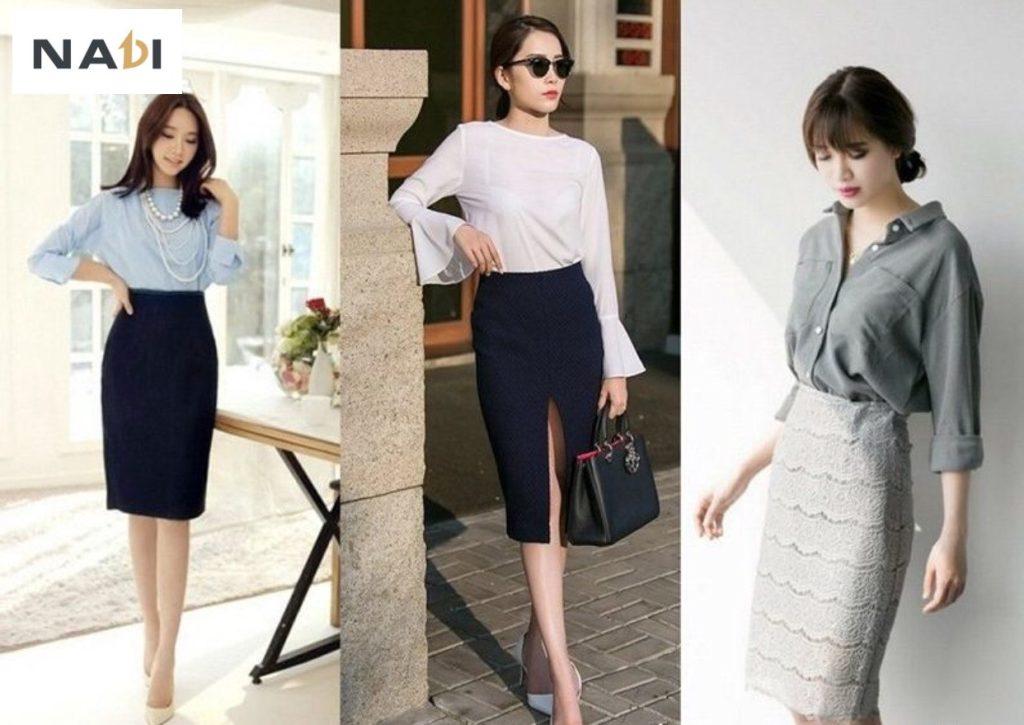 Chân váy công sở giá sỉ,rẻ TpHCM, Đà Nẵng,Hà Nội