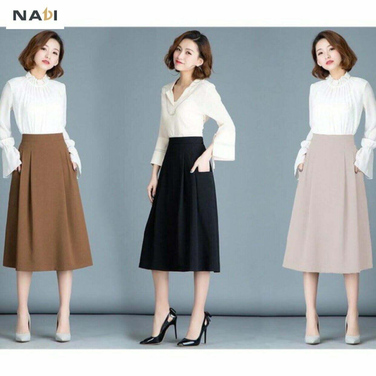 Chân váy công sở giá sỉ bắt kịp với xu hướng hiện đại