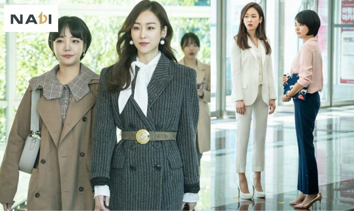 Mặc đồ công sở đẹp như sao Hàn mới nhất hiện nay