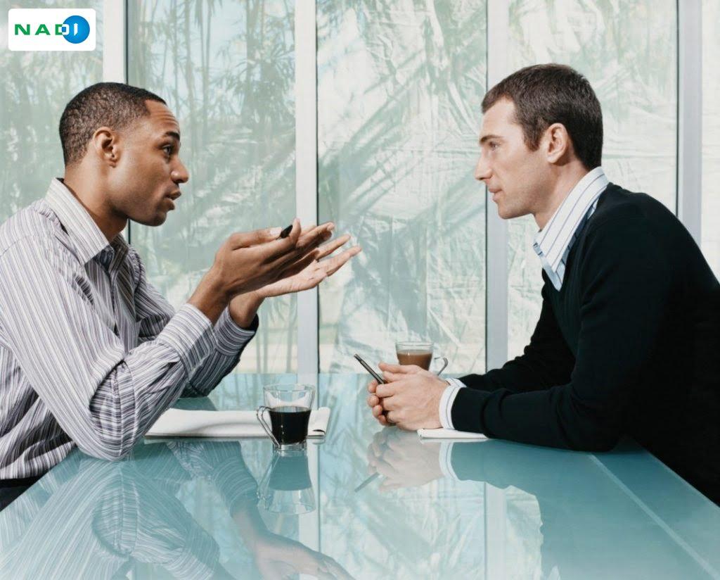 Hãy đợi đến khi mỗi người đều bình tĩnh để ngồi lại với nhau và giải quyết vấn đề.